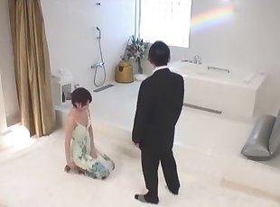Fabulous Japanese whore Yuuki Makoto in Best Small Tits, Bathroom JAV movie