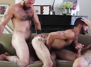 Hottest homemade gay movie with Blowjob, Group Sex scenes