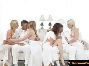 Very Taboo Mormon Cult Breeding Session