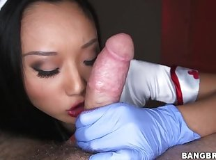 BANGBROS - Sexy Asian Alina Li Celebrates Halloween By Fucking