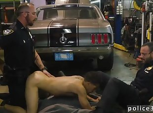 Old men sucking each other gay porn Get nailed by the police