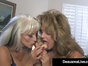 Texas Cougar Deauxma Watches As Sally DAngelo Bangs Hubby!