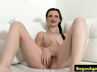 Saggytits euro sucking casting agents dick