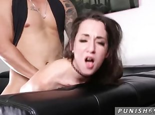Real time bondage hot car handjob cumshot