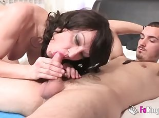 This mature loves young cocks