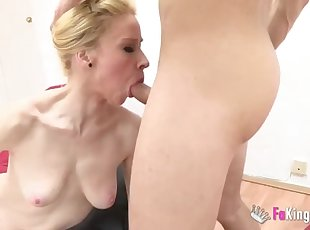 Getting fucked by meat stick while talking to boyfriend