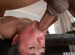 Girl whipped hard Rough ass-fuck hook-up