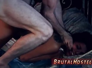 Bondage submission xxx both hands handjob