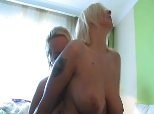 Dutch mature couple & young pussy #2