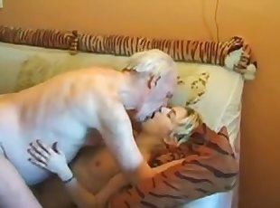 Old man,young girl,great sex