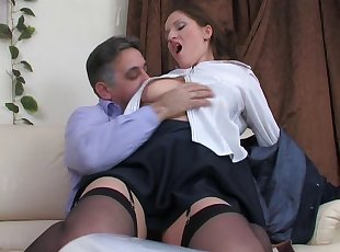 bad student punished by not her dad
