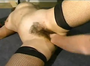 Classic BDSM French porno with a master and a hot girl