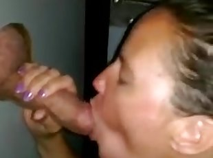 Gloryhole Slut Wife!!!