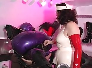Rude Nurse and Inflatable rubber