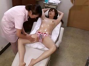 Massage on cutie sofa three