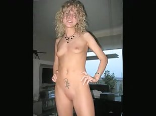 Non-Professional three-some - delicious blond swinger wife