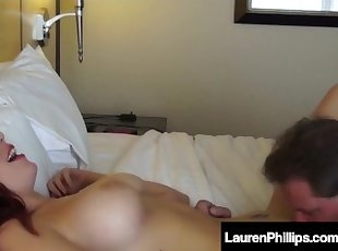 Lauren Phillips Unloads The brush Pussy Hooch Greater than A Casual Guys Dig up