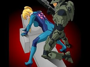 Samus 3D intercourse compilation (Metroid) (Nintendo)